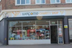 Welcome Charity Shop Lea Village