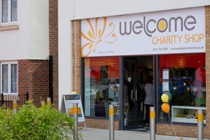 Welcome Charity Shop Shard End